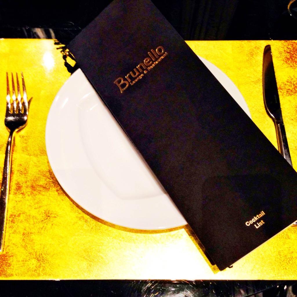 Baglioni menu
